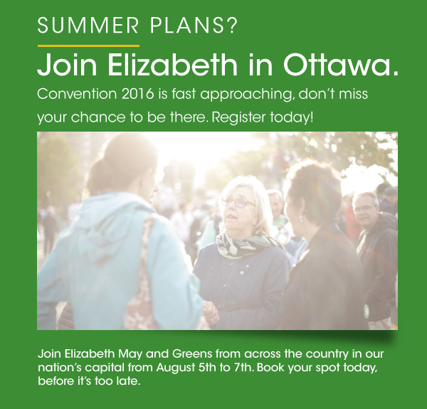 Join Elizabeth in Ottawa