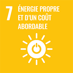 UN Sustainable Development Goal Goals: 7 - Affordable and clean energy