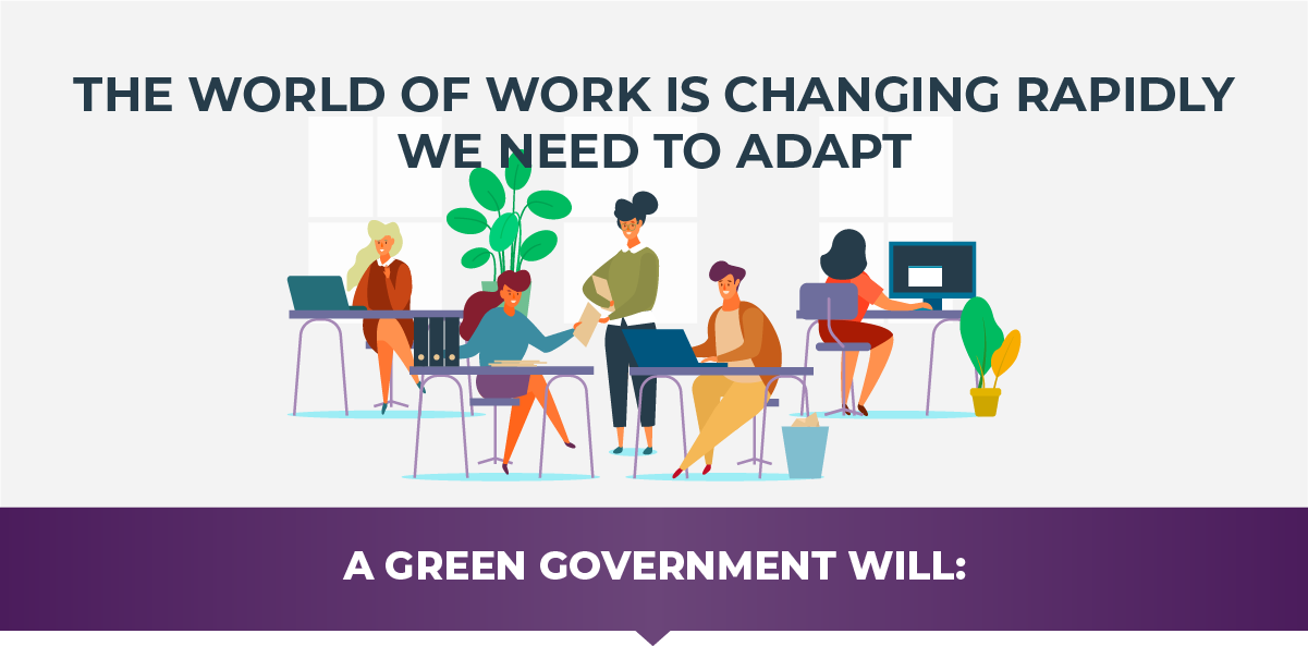 The world of work is changing rapidly. We need to adapt.