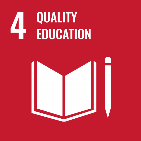 UN Sustainable Development Goal Goals: 4 - Quality education